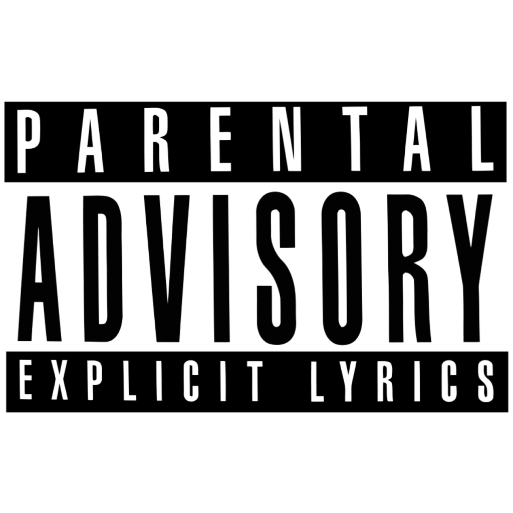 HD Parental Advisory Png 43523  Free Icons and PNG