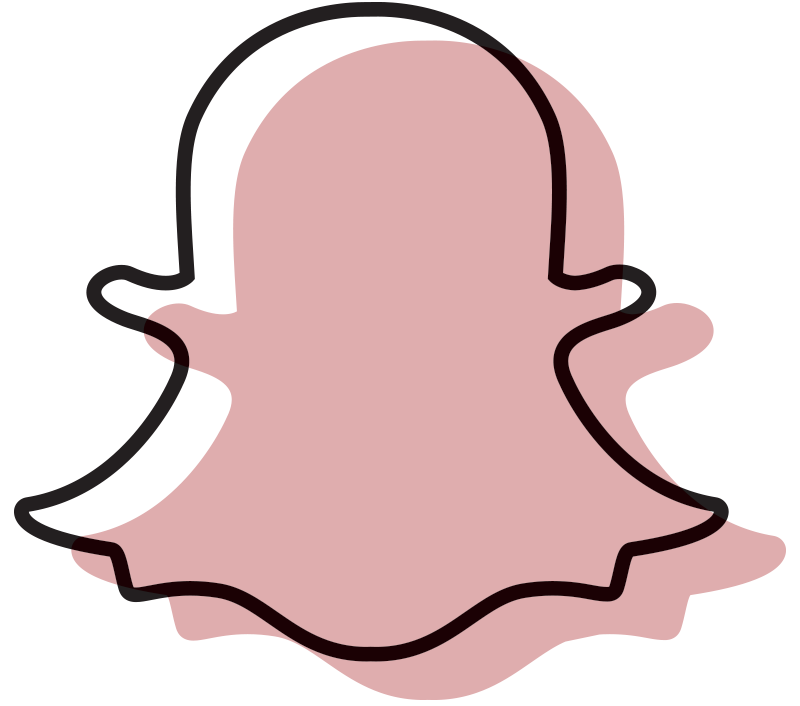 Pink Snapchat Icon at Vectorifiedcom  Collection of Pink