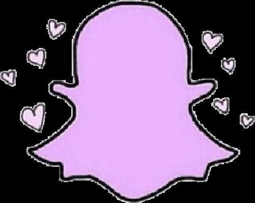 Aesthetic Pastel Pink Snapchat Logo