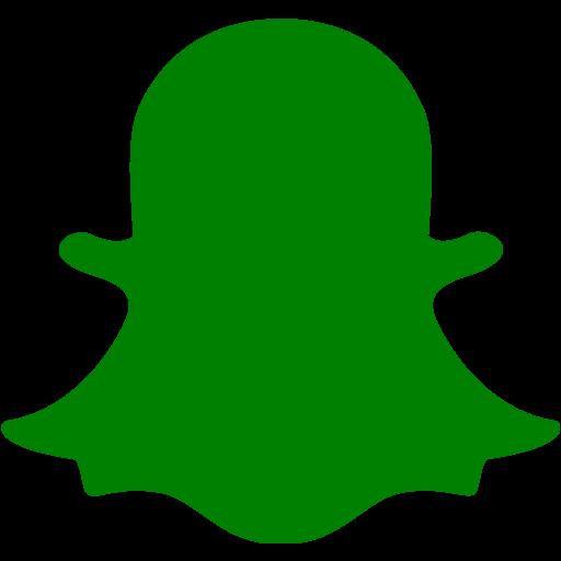 Green snapchat 2 icon  Free green social icons