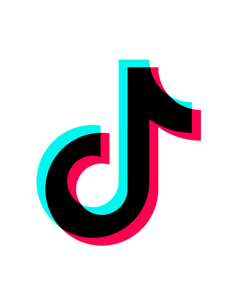 Tik Tok Logo PNG Image  Brand stickers