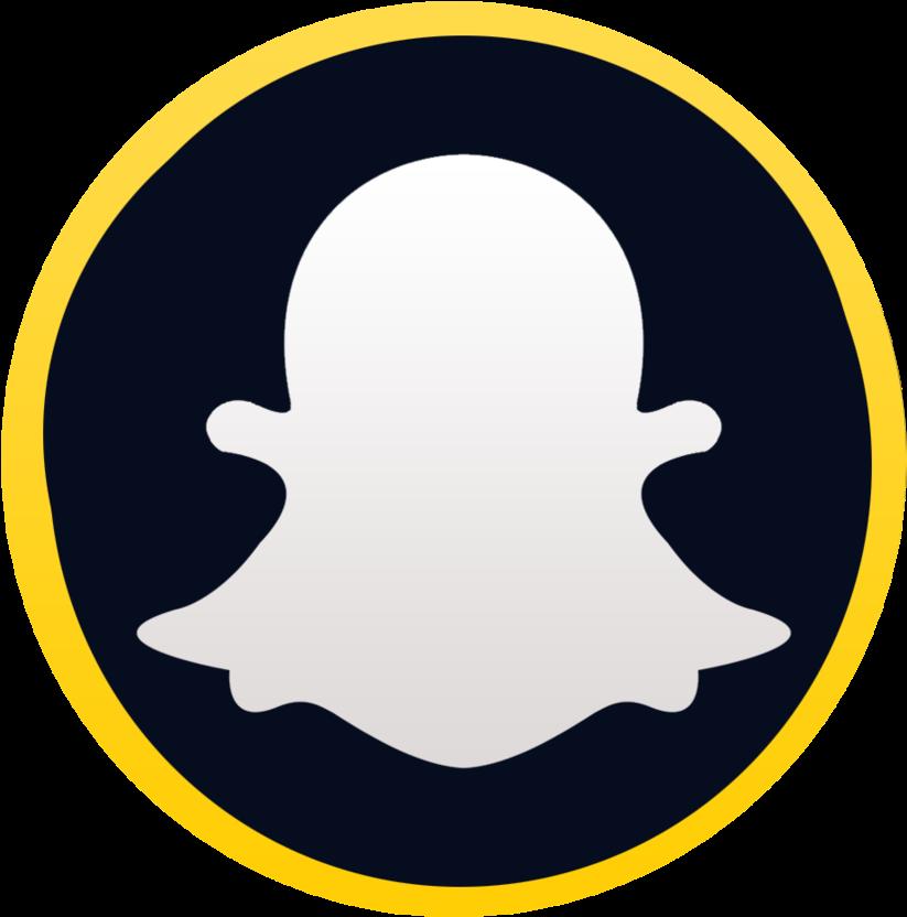 Logo Snapchat Png Clipart Library  Snapchat Grey