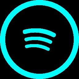 Cute Blue Spotify Logo  Sorrelliearringsideas