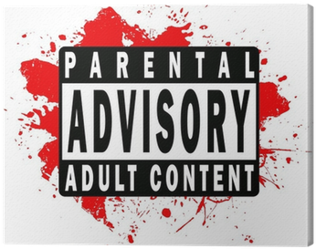 Download Parental Advisory Red Png Picture Transparent