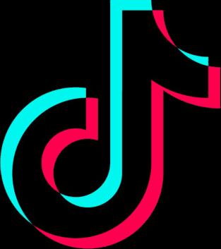 tiktok logo glitch freetoedit  Sticker by Fly Wall