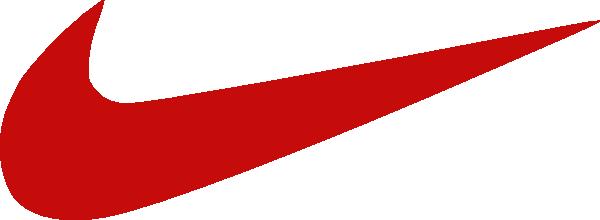Red Nike Logo Clip Art at Clkercom  vector clip art