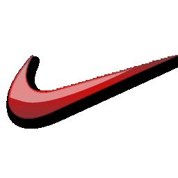 耐克红色标志图标免费下载 Nike red logo图标 PNG ICO 图标之家