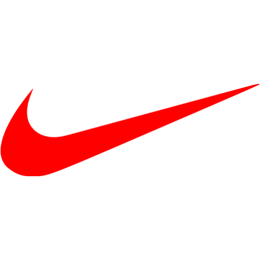 Red nike icon  Free red site logo icons
