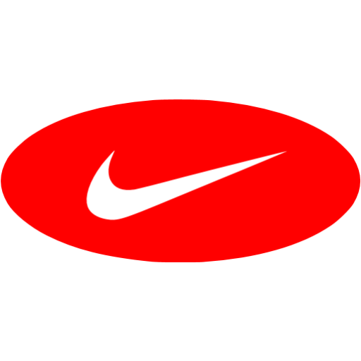 Red nike 3 icon  Free red site logo icons