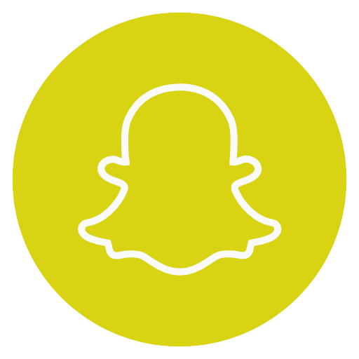 Icono Circulo snapchat la red social Gratis de Social