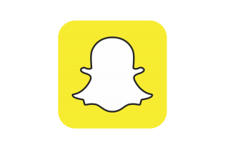 High Resolution Snapchat Red Logo Icon PNG Transparent