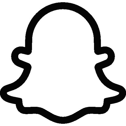 Snapchat  Iconos gratis de medios de comunicación social