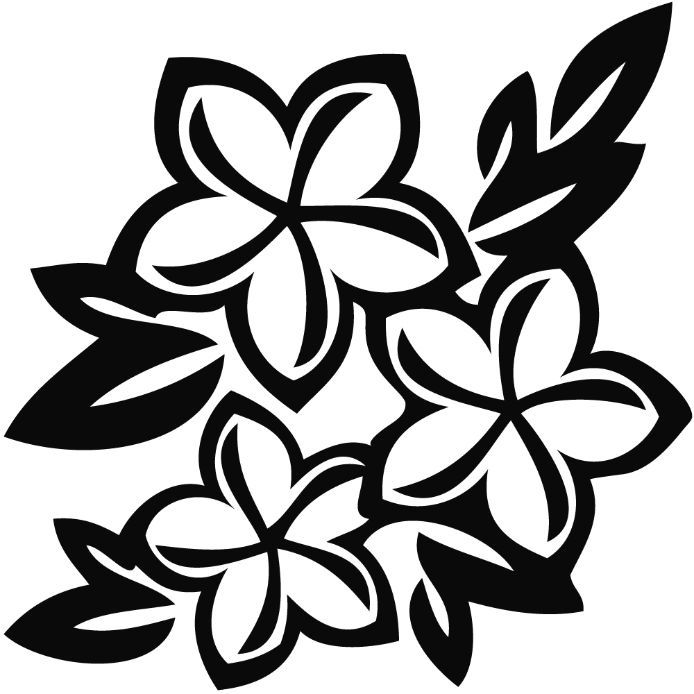 Roses Clipart Black And White | Free download on ClipArtMag - Rose Flower Black and White