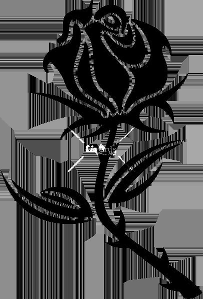 Black rose Drawing Clip art  rose png download  6801000