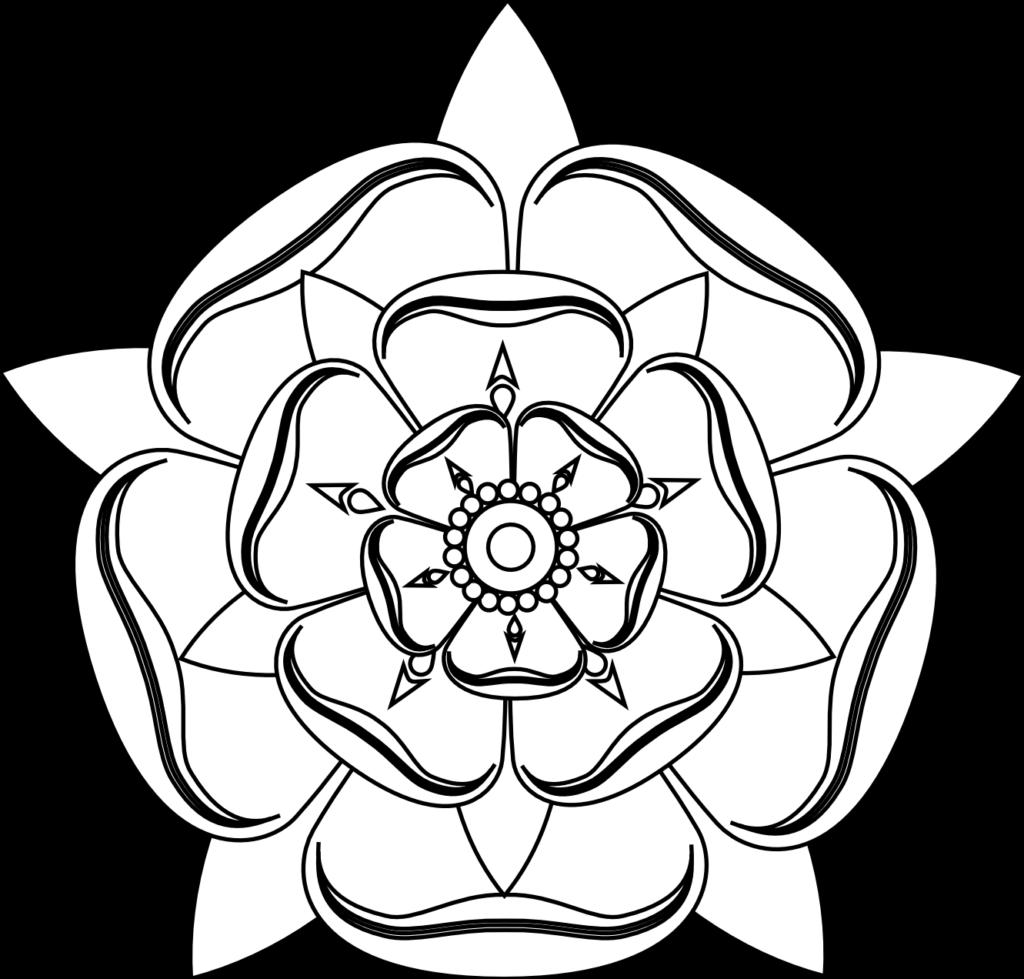 tudor rose tattoo black  Google Search  Dövme fikirleri