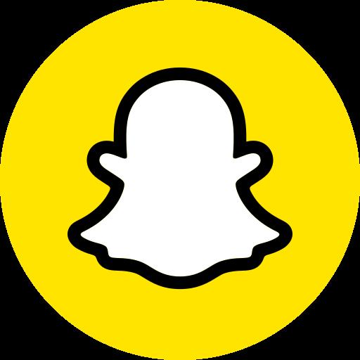 Snapchat logo Gratis Pictogram van Social Colored Icons