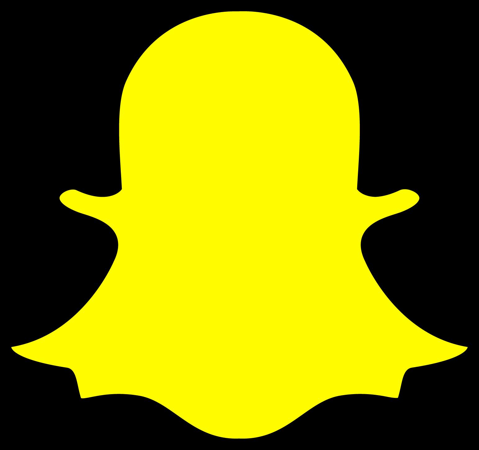 download logo snapchat svg eps png psd ai vectors free ... - Snapchat Chat Icon