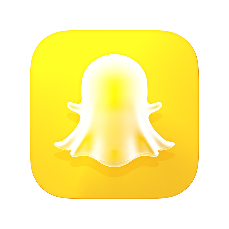 Dribbble  Snapchat3Diconpublish800x800png by