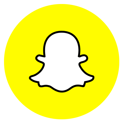 Snapchat Round Color icon PNG and SVG Vector Free Download