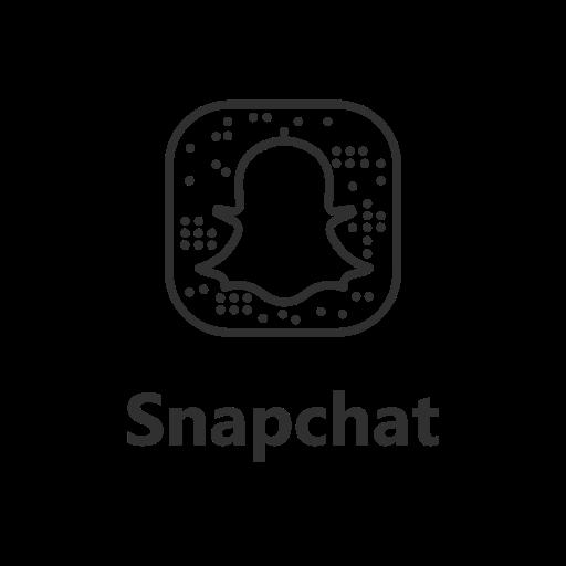 Brand label logo snapchat icon  Free download