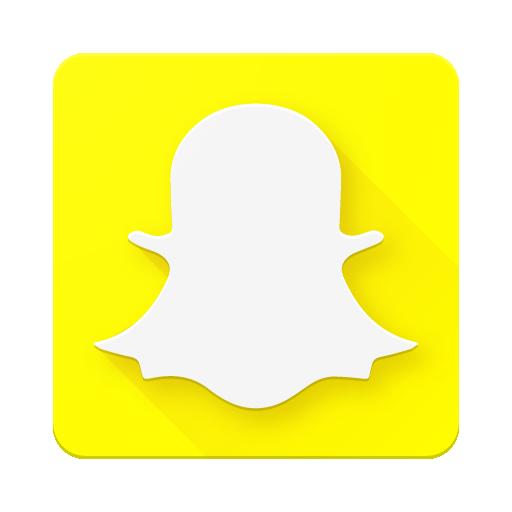 Snapchat – MaterialUp - Snapchat Logo Edited