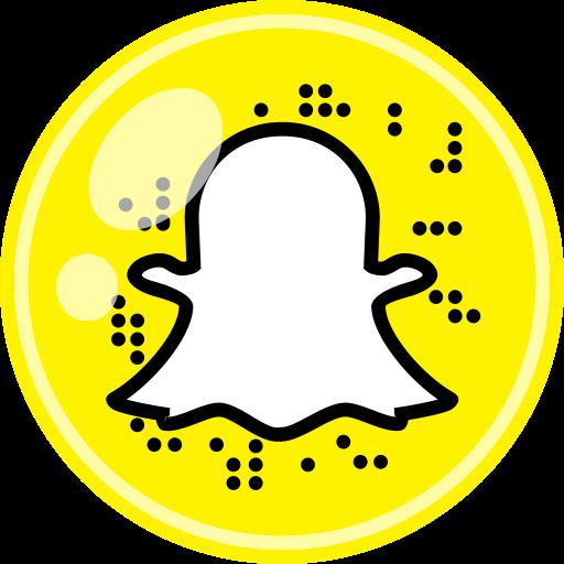 media Social Snapchat icon