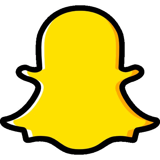 Snapchat  Free social media icons
