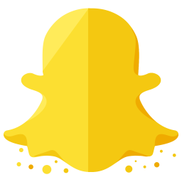 Snapchat Logo Icon of Flat style  Available in SVG PNG