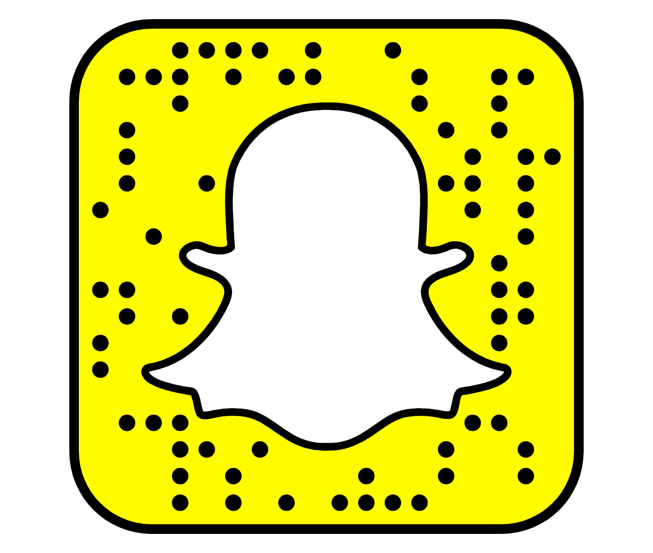 Library of snapchat logo jpg freeuse library transparent ... - Snapchat Logo Edited