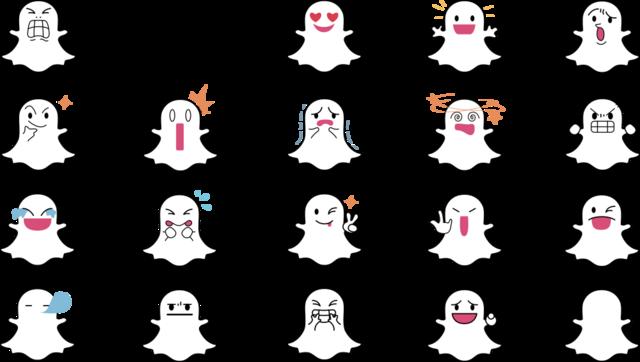 FileSnapchat Ghost Facessvg  Logopedia  FANDOM powered