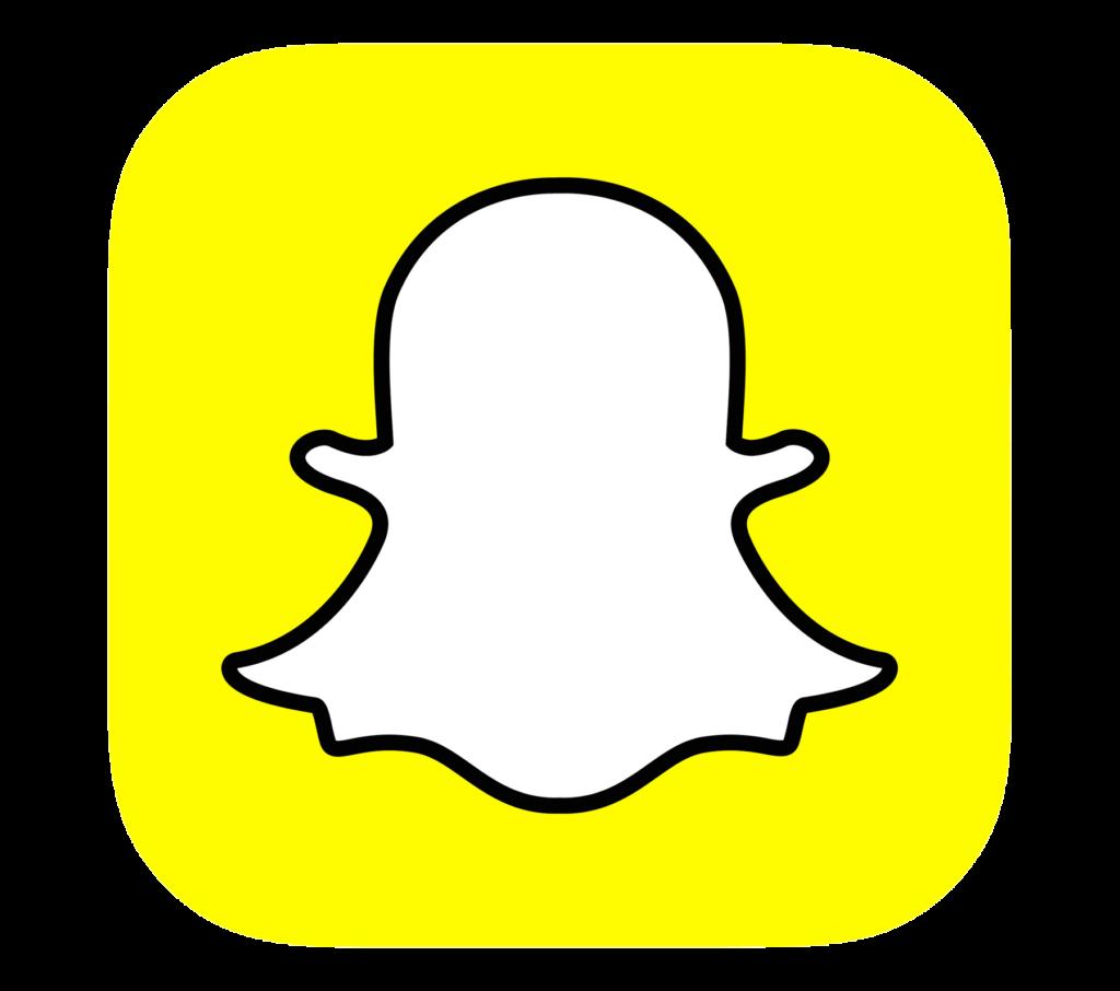 Snapchat Logo Transparent Background 46425  Free Icons