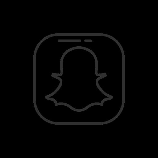 Snapchat snapchat button snapchat logo social media icon