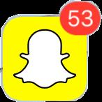 woah i have friends friends snapchat notification logo