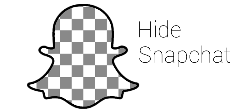 Hide Snapchat mobile  Hide Snapchat Icon and Hide