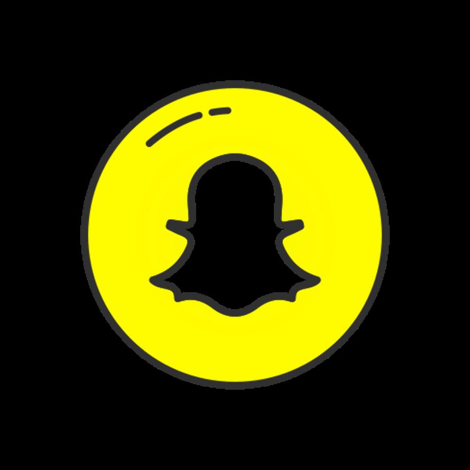 Download High Quality snapchat logo transparent white