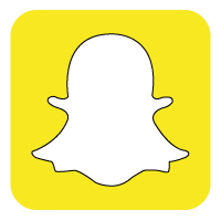 Snapchat Icon Transparent SnapchatPNG Images  Vector