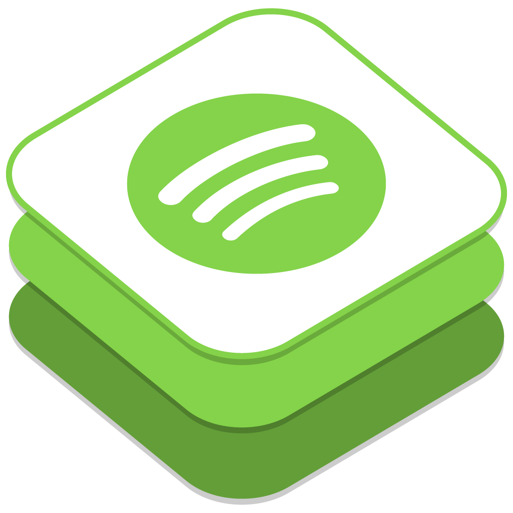 Spotify icon free download as PNG and ICO formats
