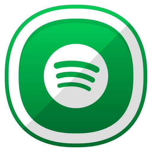 Spotify Icon  Free Cute Shaded Social Iconset  DesignBolts