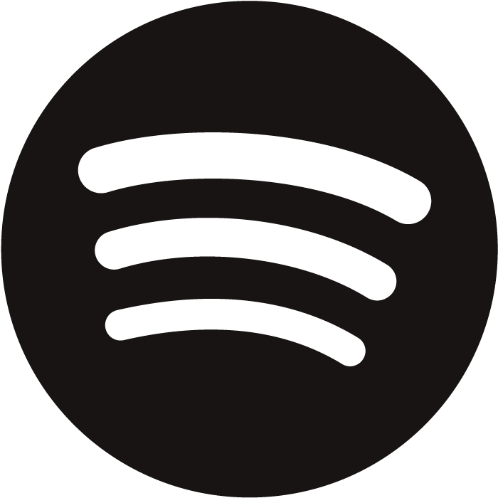 Black Spotify Logo No Background