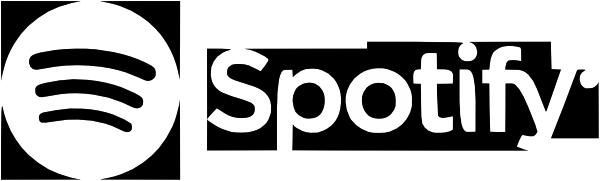 Spotify Logo Horizontal White Rgb Clip Art at Clkercom