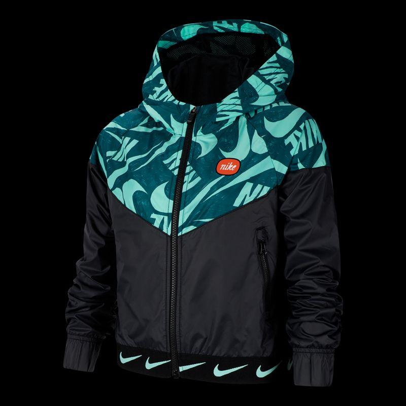 Nike Girls NSW Windrunner Jacket  Teal  Sport Chek