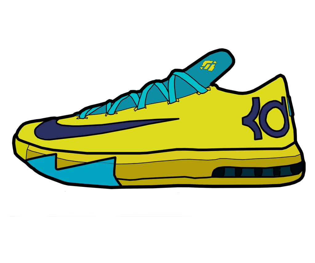 Nike KD VI YellowTeal by MattisamazingPS on DeviantArt