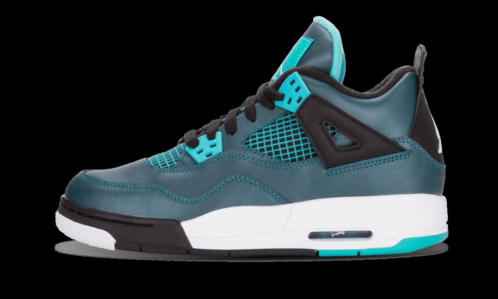 Jordan Air 4 Retro 30th BG Teal Shoes  Size 5Y  Air