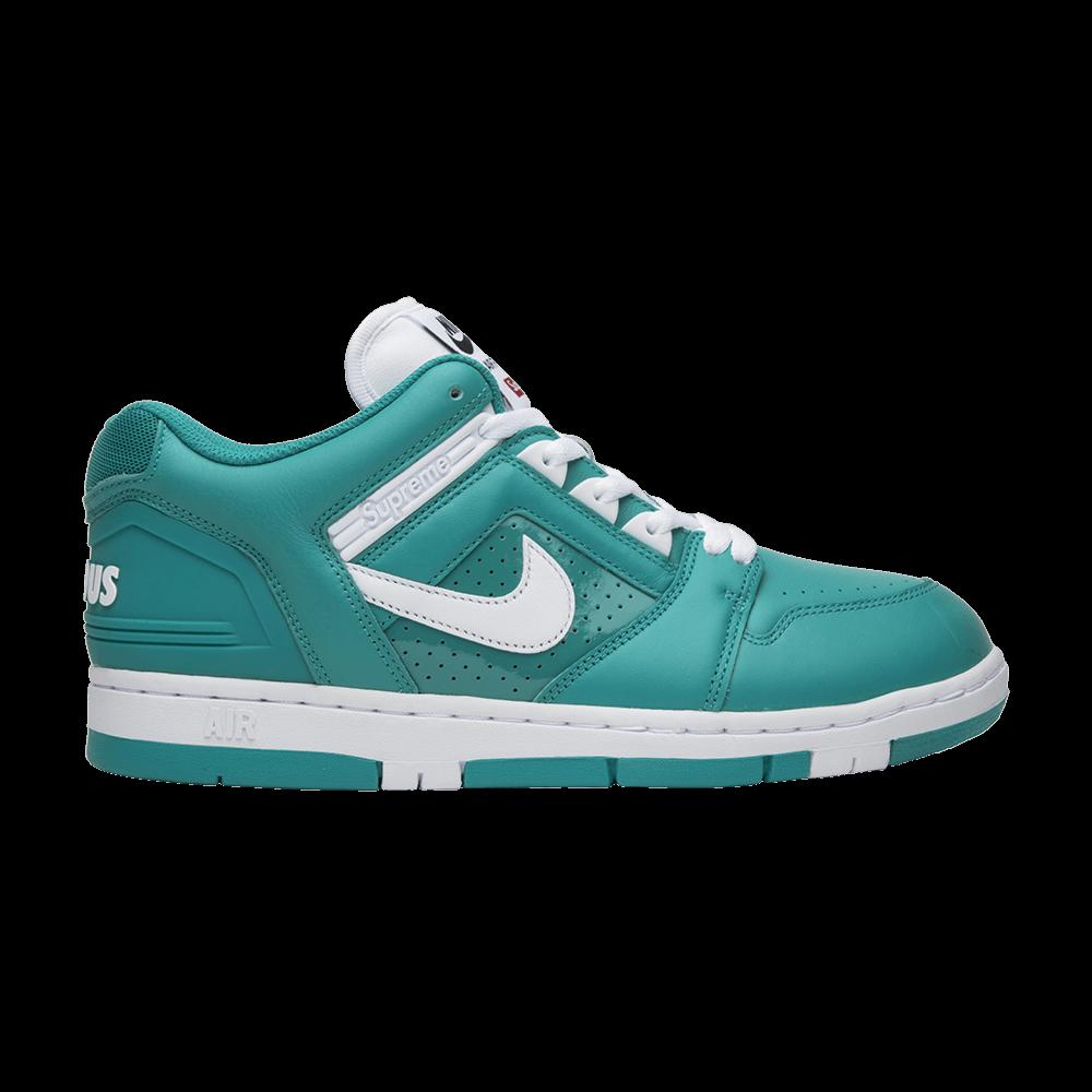 Supreme x Air Force 2 Low Teal  Nike  AA0871 313  GOAT