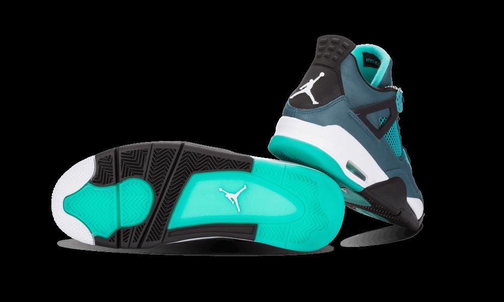 Air Jordan 4 Retro 30th Teal  705331 330  2015 With