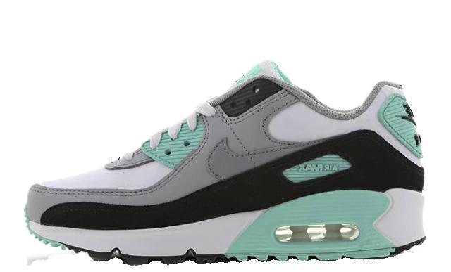 Nike Air Max 90 GS Grey Teal  CD6864102  The Sole Womens