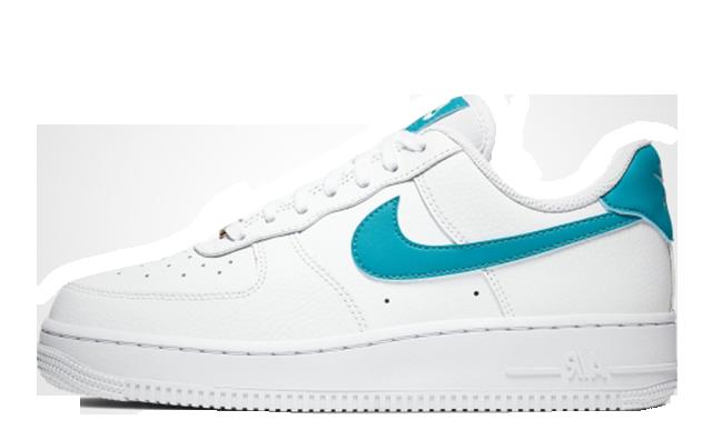 Nike Air Force 1 Low White Teal Nebula  AH0287109  The