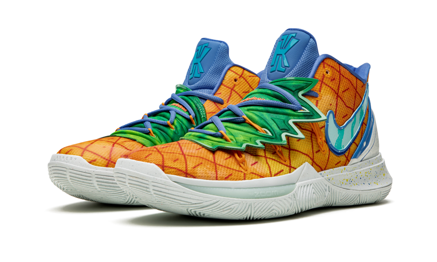 Nike Kyrie 5 Spongebob  Pineapple House  CJ6951 800