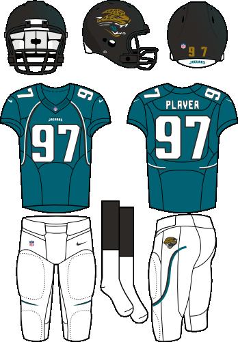 Jacksonville Jaguars Alternate Uniform  National Football