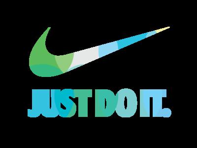 Nike logo V2  colorful effect by Mounir Elogbani  Dribbble